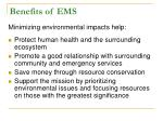 benefits of ems26