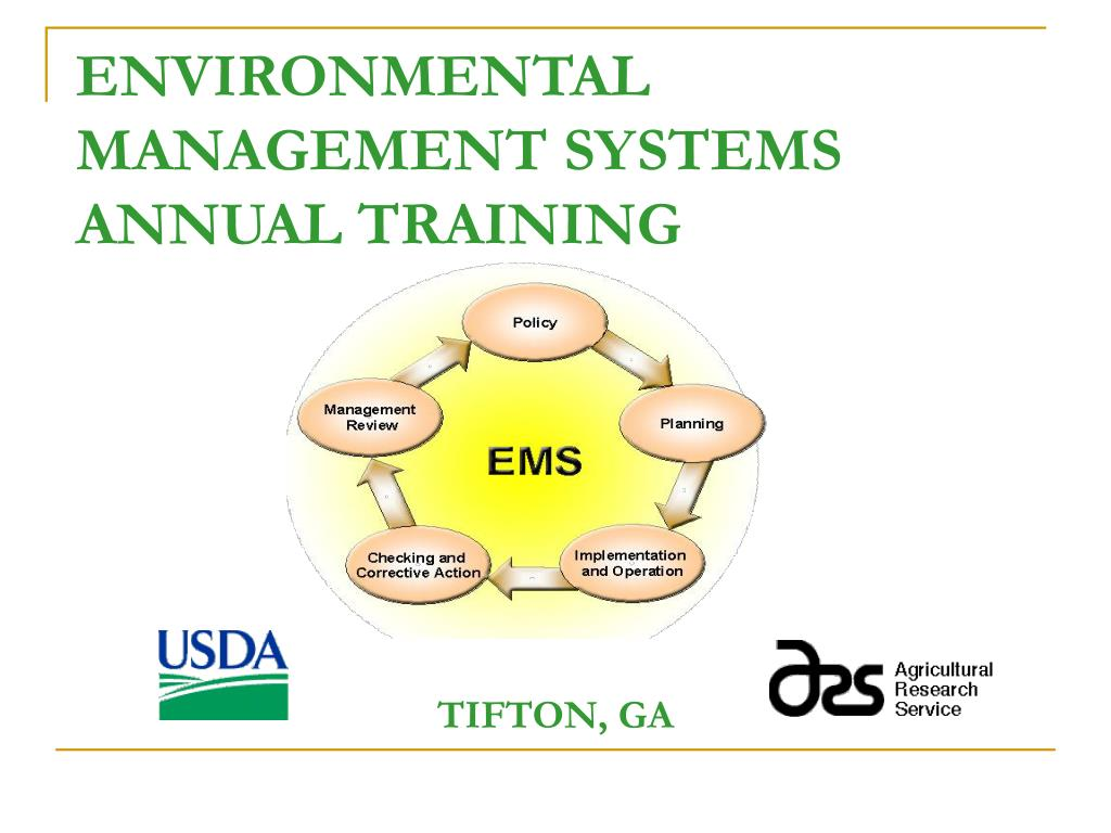 environmental management systems annual training l.