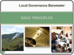 basic principles