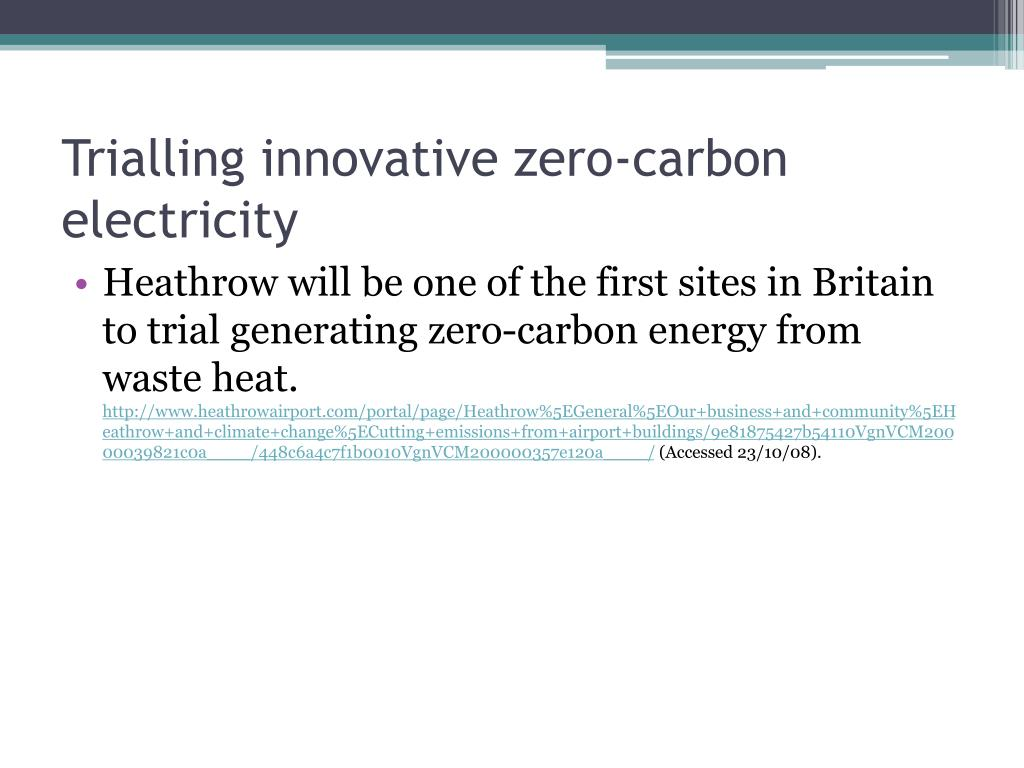 Trialling innovative zero-carbon electricity
