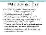 ipat and climate change25