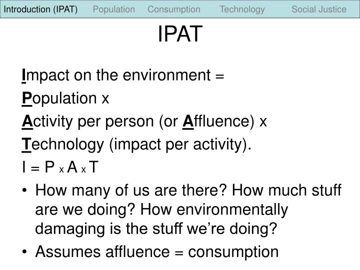 Introduction (IPAT)