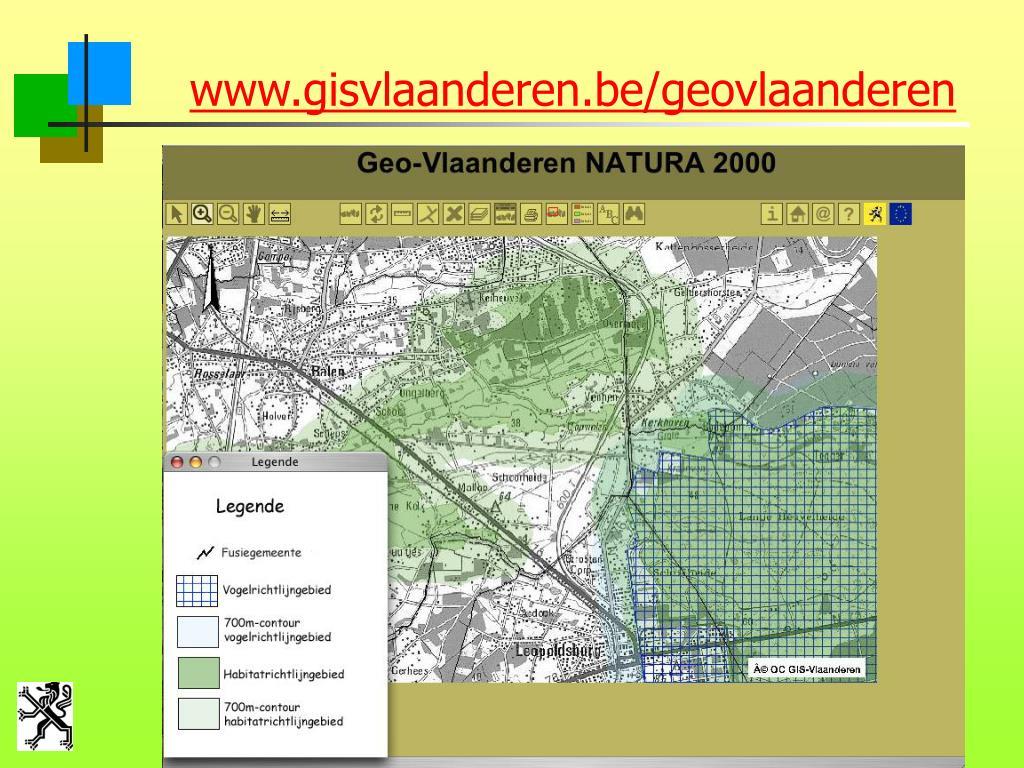 www.gisvlaanderen.be/geovlaanderen