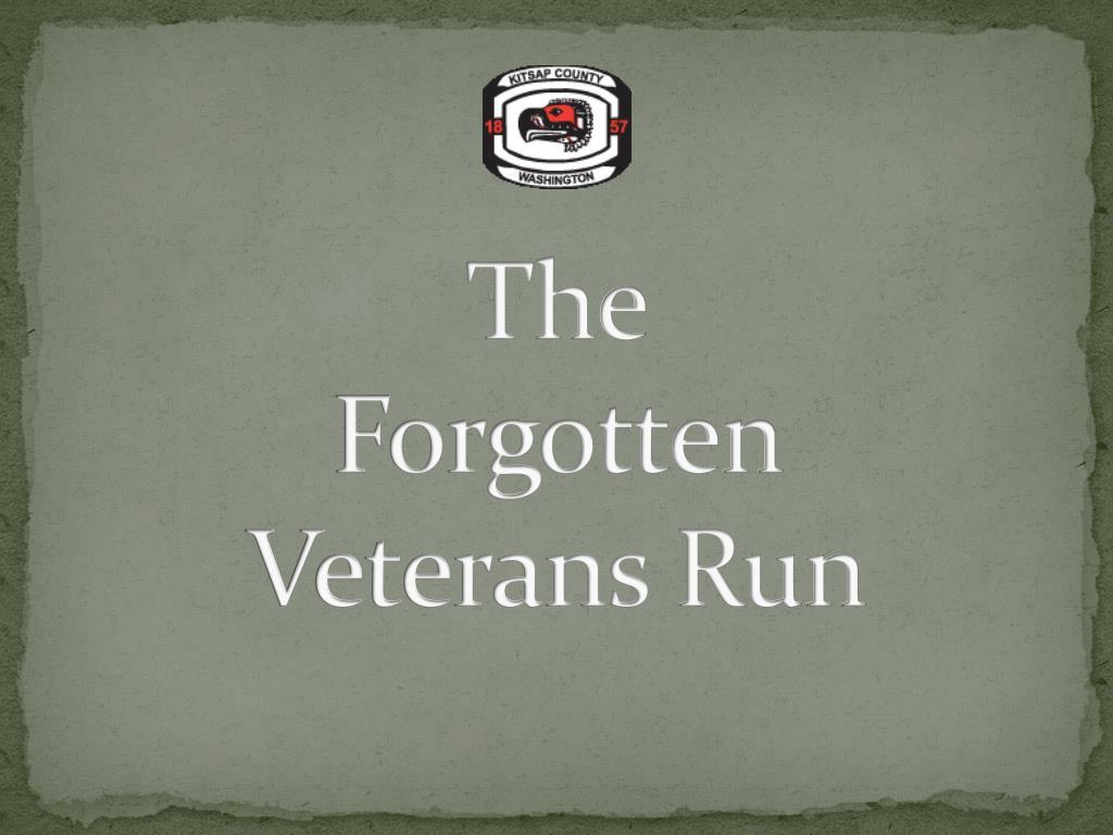 the forgotten veterans run l.