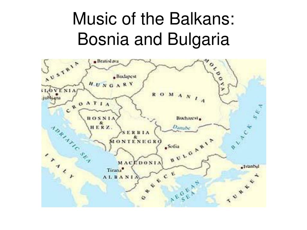 Music of the Balkans: