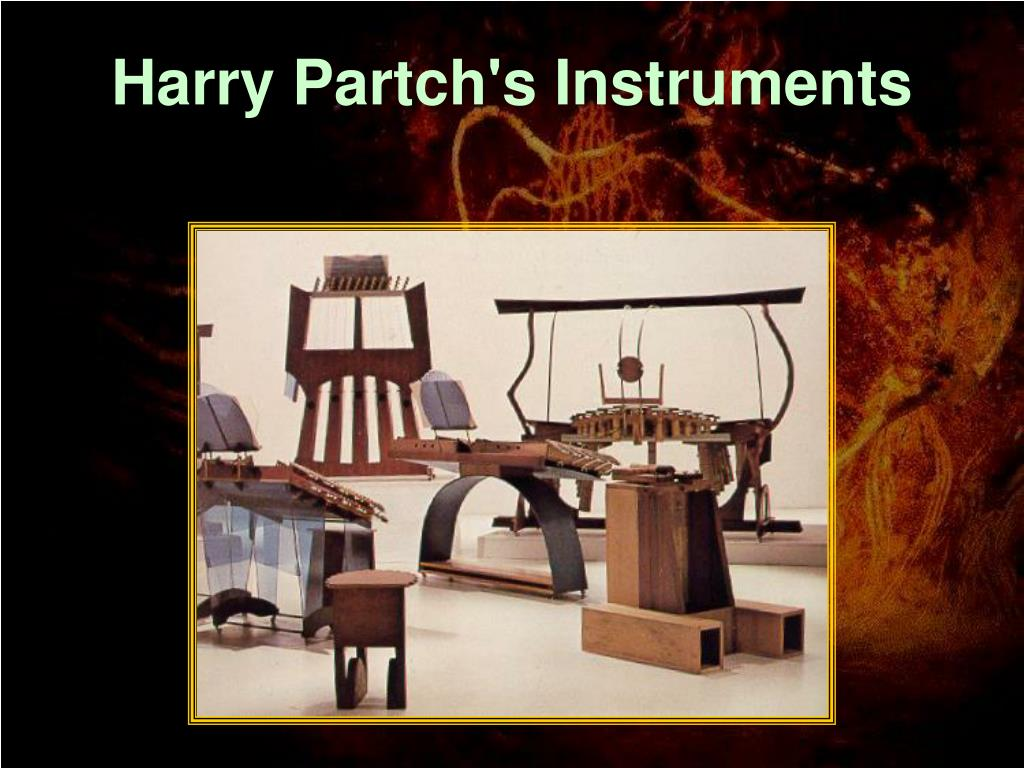 Harry Partch's Instruments