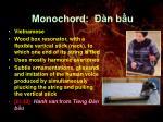 monochord n b u