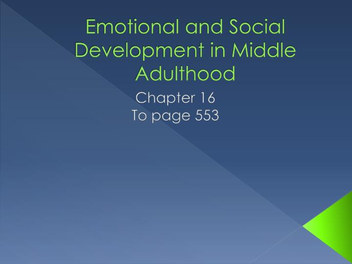 social and emotional development in early childhood essay