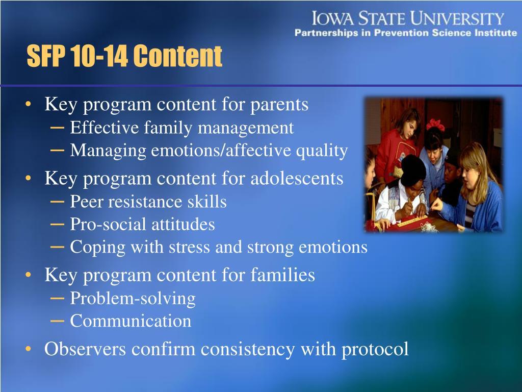 SFP 10-14 Content