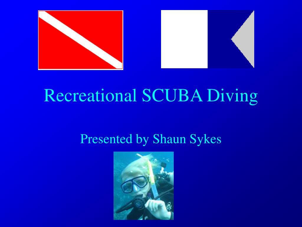 recreational scuba diving l.