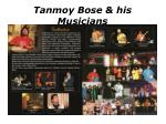 tanmoy bose his musicians