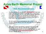 aviva barth memorial project15