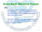aviva barth memorial project8