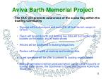 aviva barth memorial project9