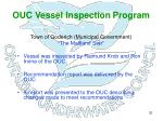 ouc vessel inspection program29