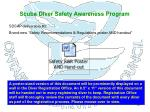 scuba diver safety awareness program19