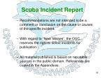 scuba incident report33