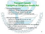 transport canada transport of dangerous goods act25