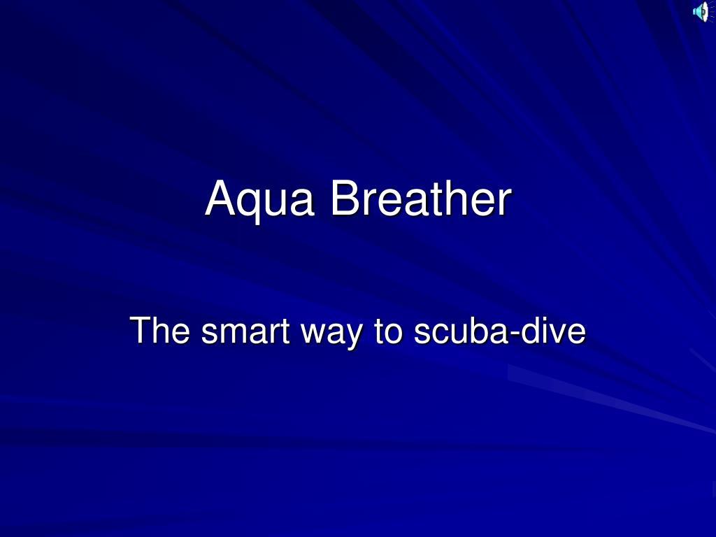 aqua breather l.