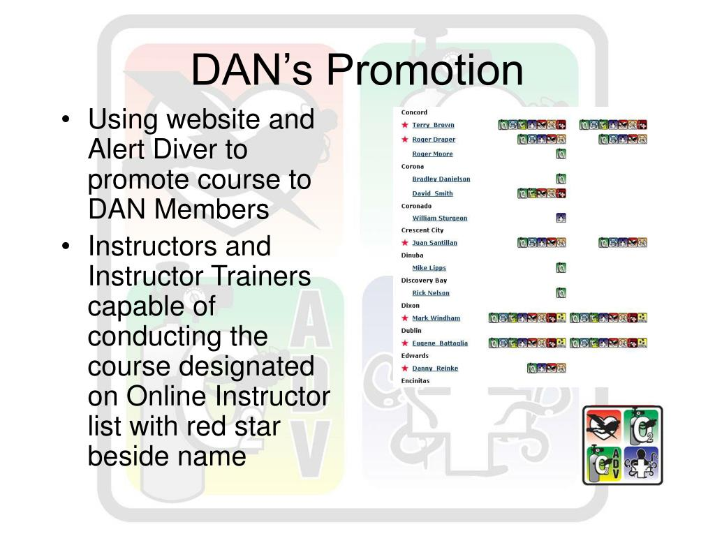 DAN's Promotion