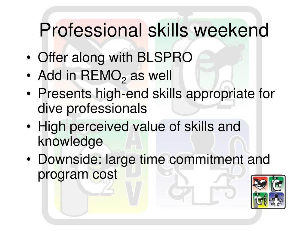 Professional skills weekend