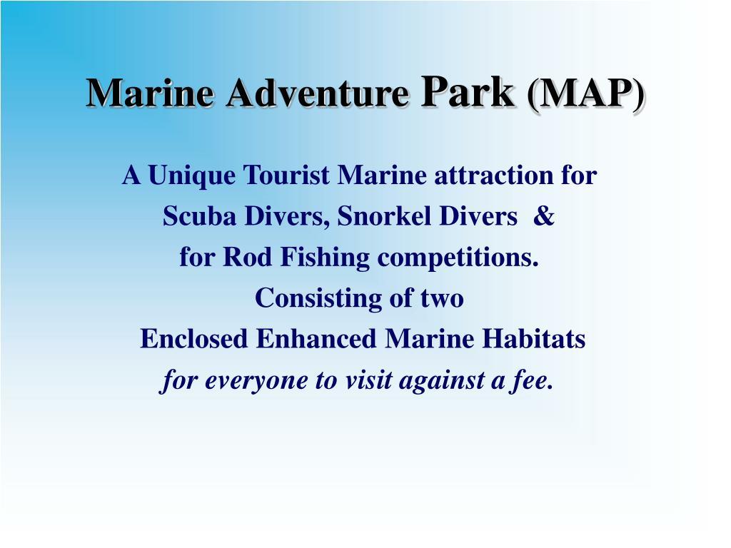 marine adventure park map l.