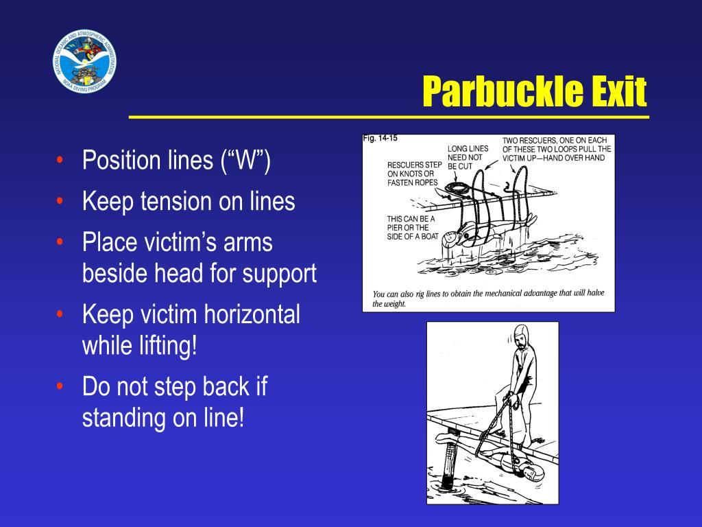 Parbuckle Exit