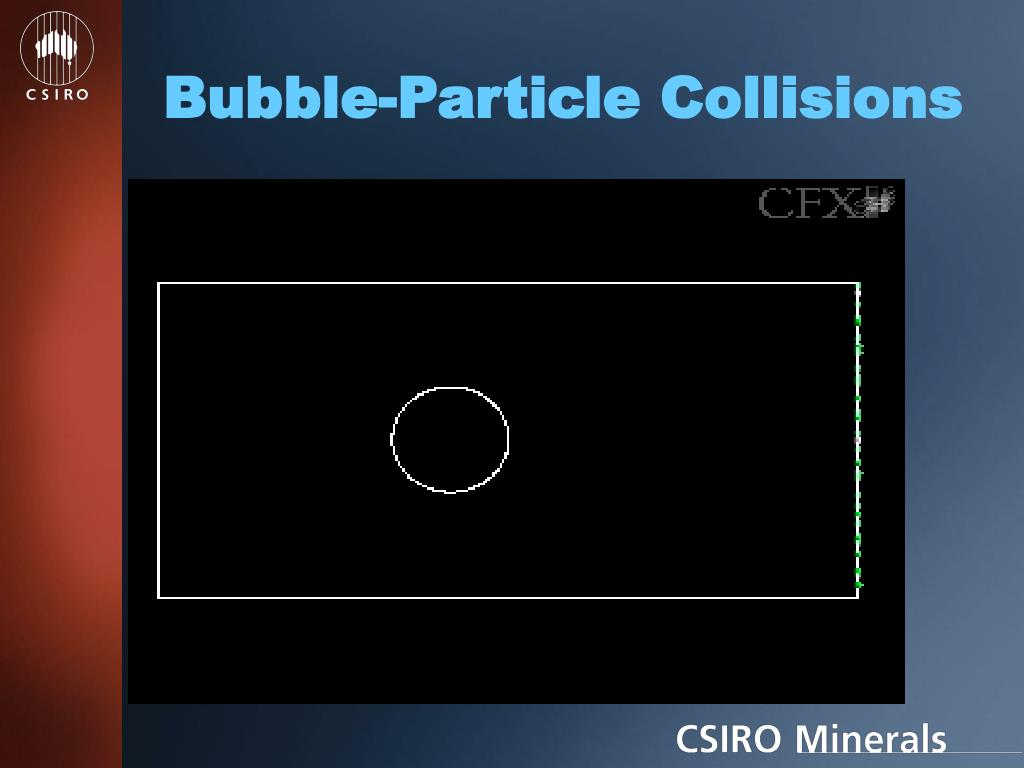 Bubble-Particle Collisions