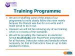 training programme11
