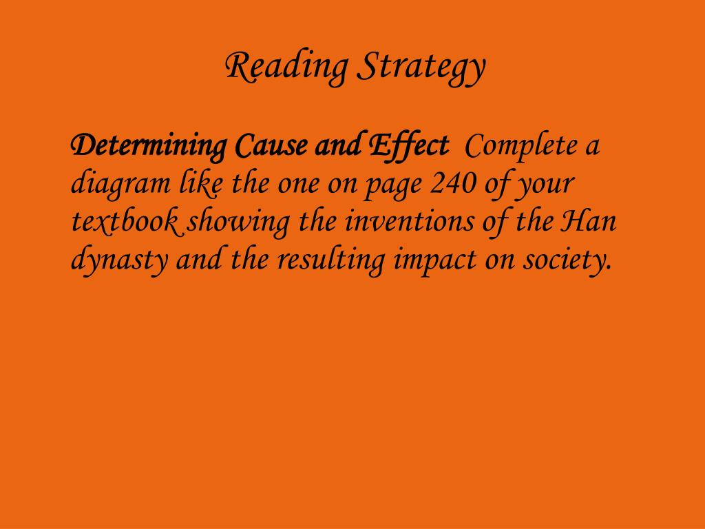 Reading Strategy