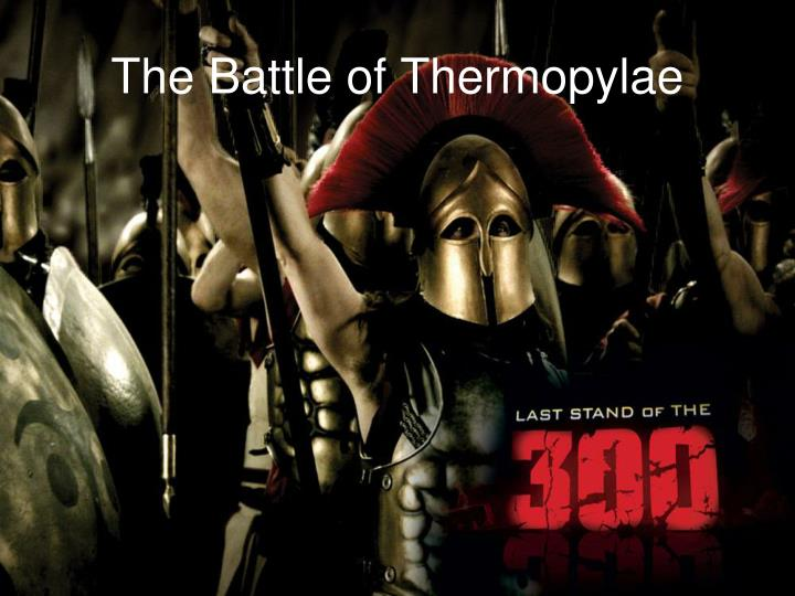 the battle of thermopylae n.