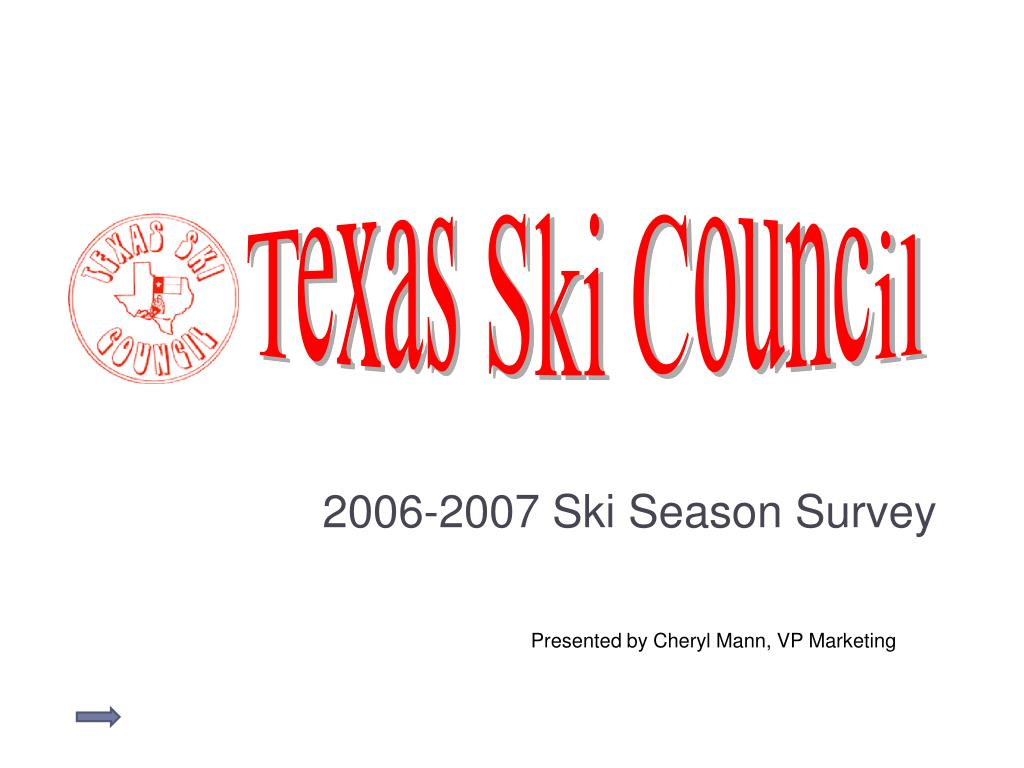 2006 2007 ski season survey l.