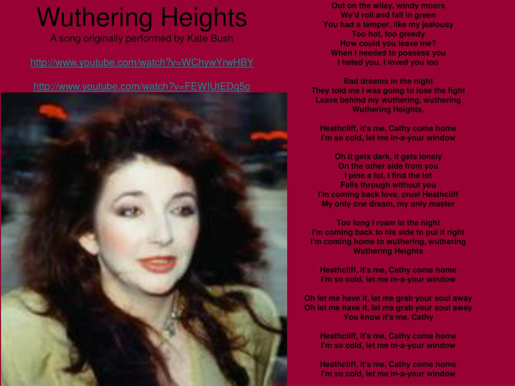 PPT - Wuthering Heights by Emily Brontë PowerPoint Presentation - ID