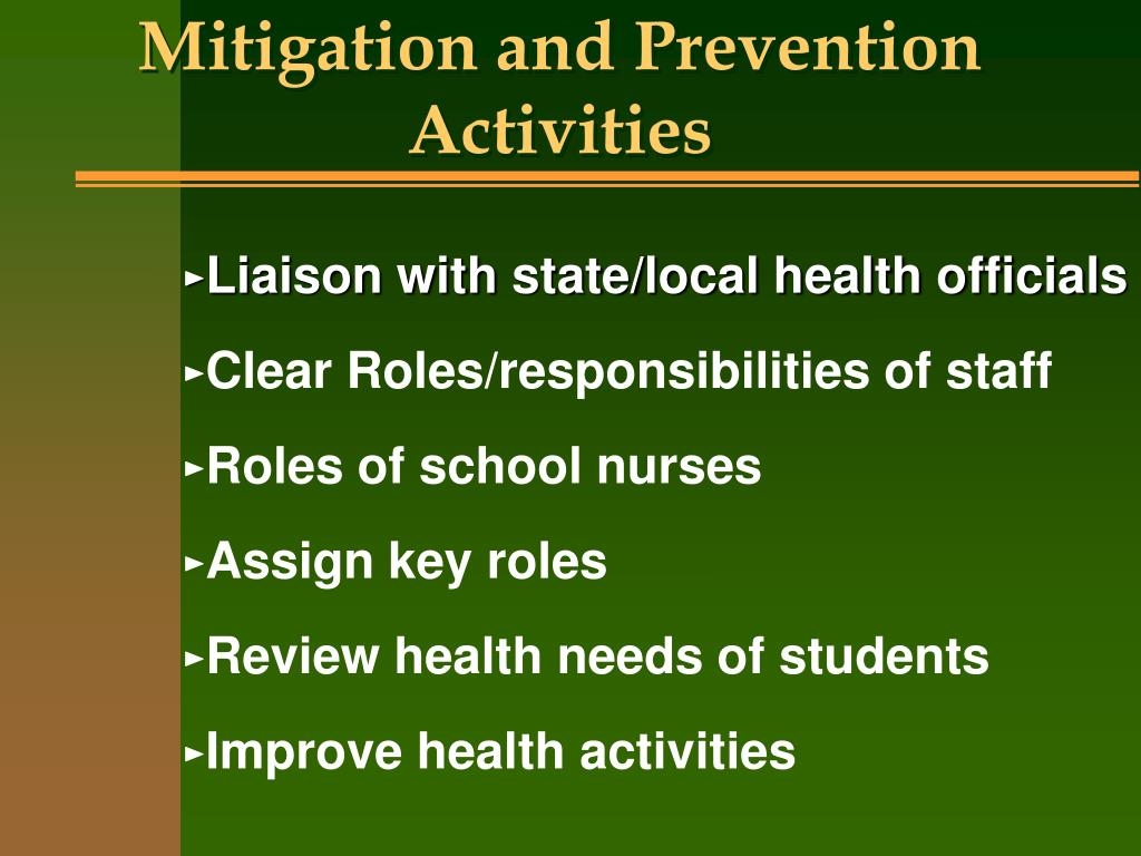 prevention and mitigation analysis essay 1 answer to prevention and mitigation analysis: write 800 word analysis of the arizona department of corrections' morey unit essay 700 words identify a.
