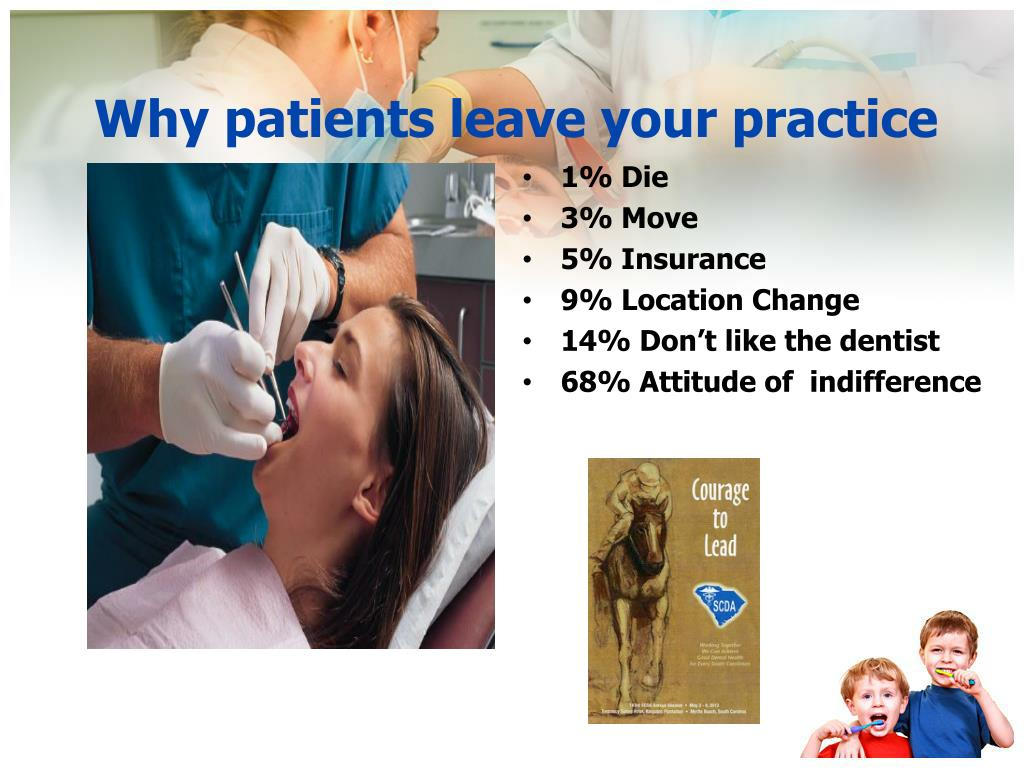 Why patients leave your practice