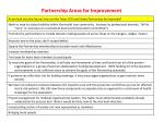 partnership areas for improvement36