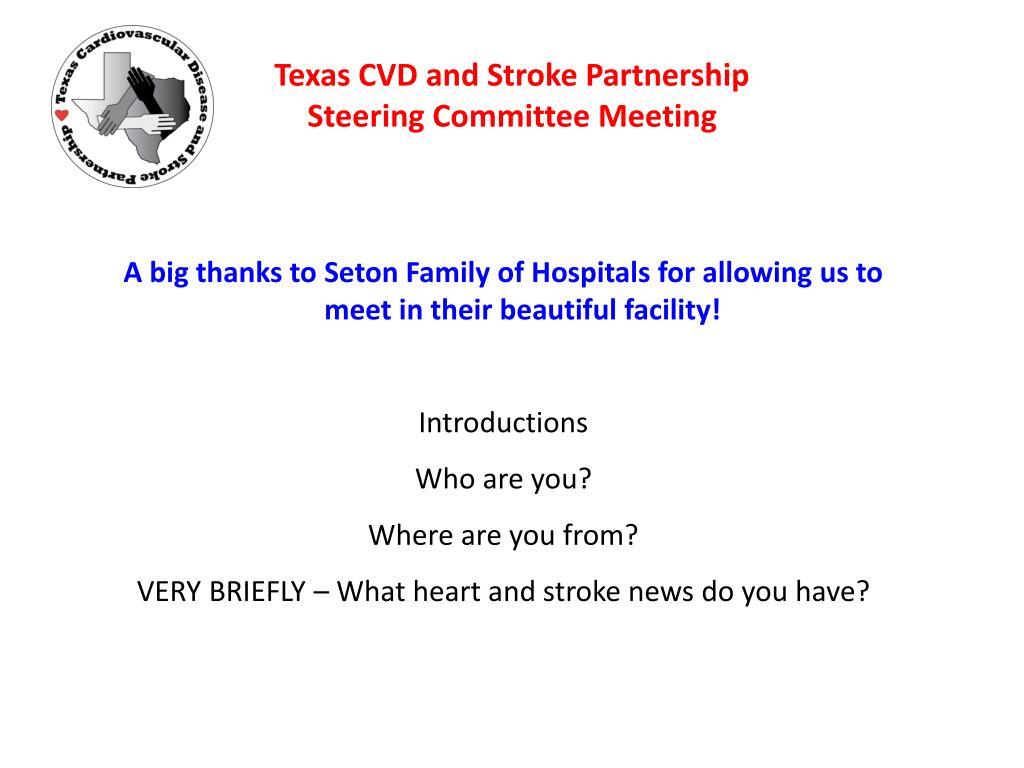 Texas CVD and Stroke Partnership