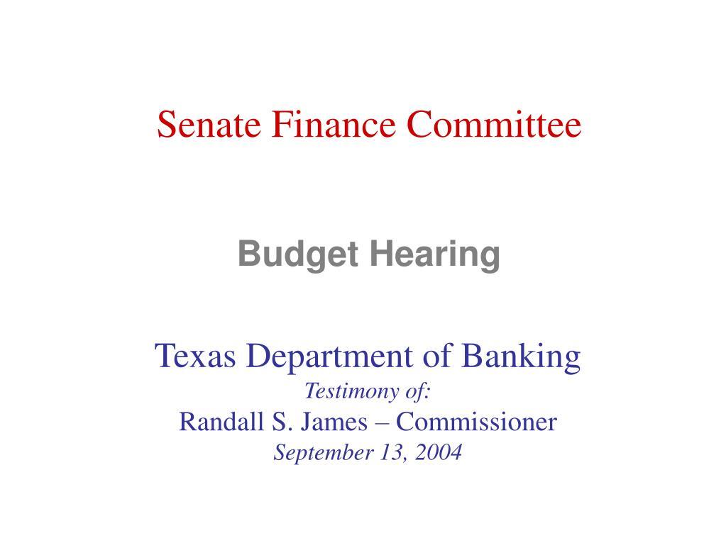 budget hearing l.