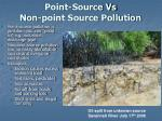 point source vs non point source pollution