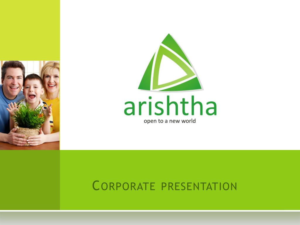 corporate presentation l.