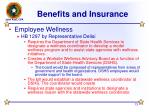 benefits and insurance13