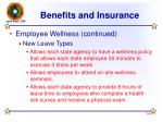 benefits and insurance14