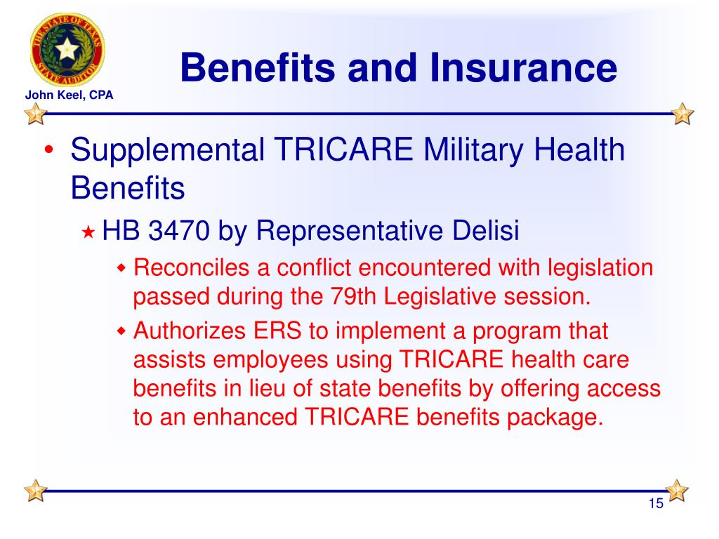 Benefits and Insurance