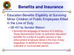 benefits and insurance16