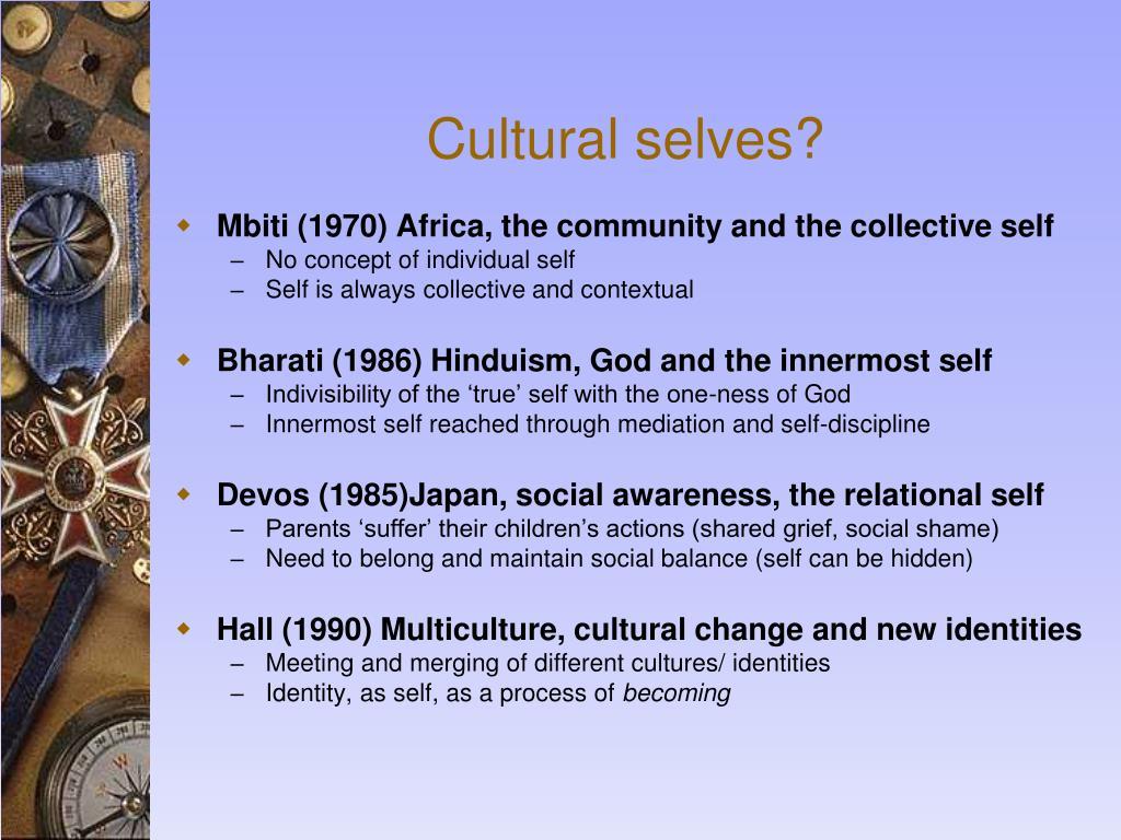 Cultural selves?