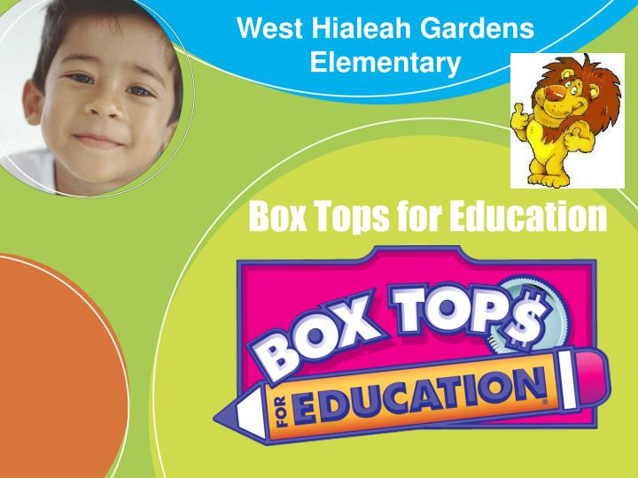 PPT - Box Tops for Education PowerPoint Presentation - ID:643290