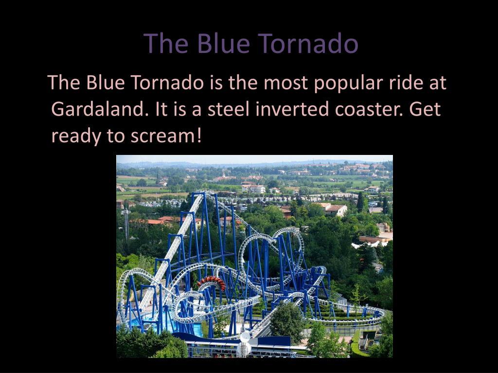 The Blue Tornado