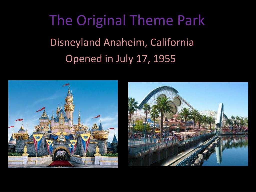 The Original Theme Park