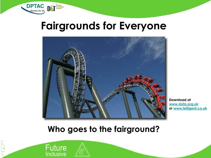 Fairgrounds for everyone