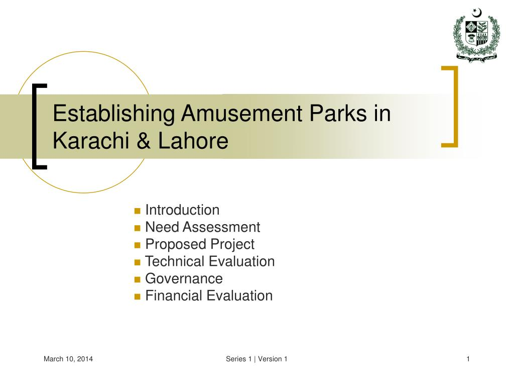 establishing amusement parks in karachi lahore l.